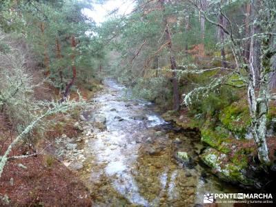 Cabeza Mediana y Camino de la Angostura; fin de semana senderismo; actividades senderismo madrid